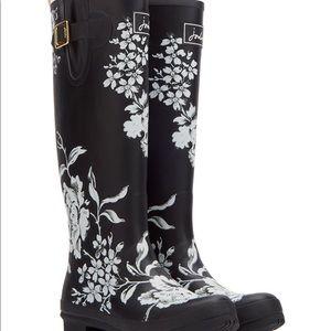 [Joules] floral rain boots